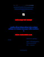 PHÂN TÍCH TÌNH HÌNH TÀI CHÍNH CÔNG TY TNHH TM XNK VIỄN THÔNG A.docx