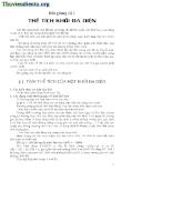 Bài giảng thể tích khối đa diện