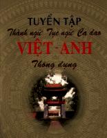Tuyen tap thanh ngu tuc ngu ca dao Viet- Anh thong dung.pdf