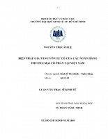 Biện pháp gia tăng vốn tự có của các Ngân Hàng Thương Mại Cổ Phần Việt Nam.pdf