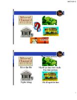 Cấu trúc tài chính doanh nghiệp và vai trò của các trung gian tài chính