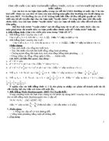 Tìm lời giải các bài toán bất đẳng thức - giá trị nhỏ nhất - giá trị lớn nhất nhờ dự đoán dấu bằng