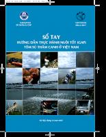 Tài liệu Sổ tay Hướng dẫn thực hành nuôi tốt (GAP) tôm sú thâm canh ở Việt Nam.pdf