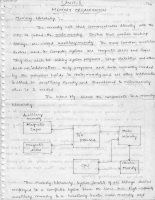 Computer Organization Unit 5