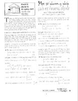 Một số phương pháp giải hệ phương trình - Nguyễn Minh Nhiên