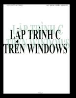 Lập trình C trên Windows