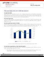 Báo cáo PHÂN TÍCH NGÀNH DƯỢC-TỔNG QUAN NGÀNH DƯỢC 2010 & TRIỂN VỌNG NĂM 2011.pdf
