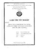 Phân tích tình hình tài chính công ty TNHH Việt Nam Gạch Men Thạch Anh (Vicera).pdf