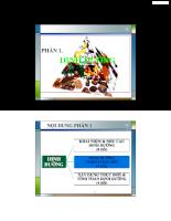 Bài giảng môn dinh dưỡng trong công nghệ thực phẩm 3