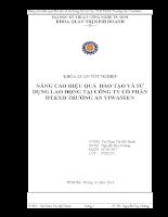 NÂNG CAO HIỆU QUẢ ĐÀO TẠO VÀ SỬ DỤNG LAO ĐỘNG TẠI CÔNG TY CỔ PHẦN ĐT&XD TRƯỜNG AN VIWASEEN.doc