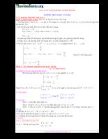 Hệ phương trình đại số