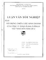 Xây dựng chiến lược kinh doanh của công ty Jones Lang Lasalle Việt Nam đến năm 2012.pdf