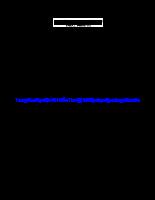 Luận văn Đánh giá chất lượng một số loại thức ăn công nghiệp nuôi cá tra giống (Pangasius hypophthalmus).pdf