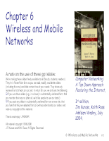 Wireless and Mobile Management