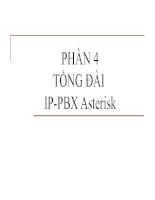 Tổng đài IP-PBX ASterisk