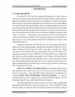 CHIẾN LƯỢC PHÁT TRIỂN KINH DOANH TẠI CÔNG TY TNHH Ô TÔ THÁI DƯƠNG ĐẾN NĂM 2015.doc