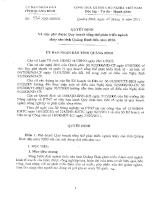 Quyết định quy hoạch thủy sản Quảng Bình đến năm 2020.pdf
