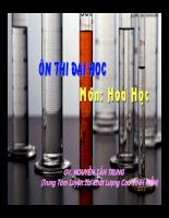 Các phương pháp tìm cấu tạo phân tử