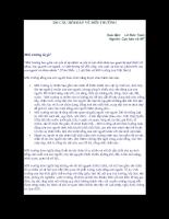 200 câu hỏi/đáp về môi trường