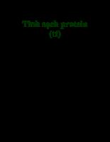 Tinh sạch Protein (tiếp)