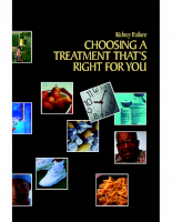 Choosing a treatment that,s right for you