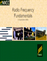 Lecture 2 -  RF Fundamentals