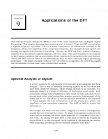 Applications of the DFT