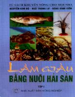 Tài liệu Làm giàu bằng nghề nuôi hải sản (tập 1).pdf