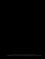 Hoàn thiện kế toán chi phí sản xuất và tính giá thành sản phẩm tại Công ty TNHH Nhà nước một thành viên Cơ khí Trần Hưng Đạo.DOC