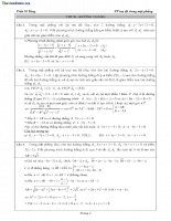 200 Hình học tọa độ phẳng