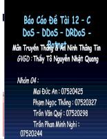 Tìm hiểu về DDOS