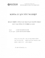 HOÀN THIỆN CÔNG TÁC ĐÀO TẠO NGUỒN NHÂN LỰC TẠI CÔNG TY TNHH S.C.O.M.doc