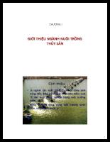 Tài liệu Bài giảng ứng dụng công nghệ sinh học trong NTTS phần 2.PDF