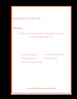 Chiến lược phát triển cho ngành logistics việt nam đến nãm 2010.pdf