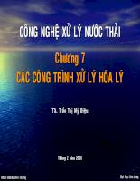 Công nghệ xử lý nước thải CXNT-M3226A-C7-200305.ppt