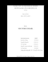 Báo cáo tổng hợp bảo mật Email