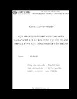 MỘT SỐ GIẢI PHÁP NHẰM PHÒNG NGỪA VÀ HẠN CHẾ RỦI RO TÍN DỤNG TẠI CHI NHÁNH NHNo & PTNT KHU CÔNG NGHIỆP TÂN THÀNH (2).doc