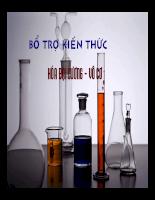 Các định luật trong hóa học
