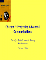Protecting Advanced Communications