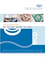 Tài liệu Sổ tay hướng dẫn kỹ thuật nuôi tu hoài.pdf