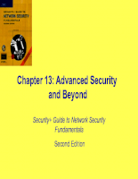 Advanced Security and Beyond