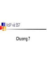 Bài giảng VoIP và SS7