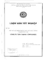 Một số giải pháp nhằm thúc đẩy hoạt động marketing tại công ty Tân Thanh Container.pdf