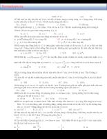 Đề thi lý thuyết học kỳ lớp 12 có đáp án