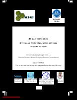 Tài liệu Sổ tay thực hành Kỹ thuật nuôi tôm rừng kết hợp.pdf