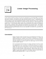 Linear Image Processing