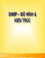SNMP – mô hình & kiến thức
