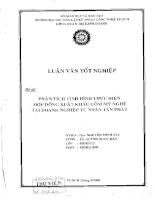 Phân tích tình hình thực hiện hợp đồng xuất khẩu gốm mỹ nghệ tại doanh nghiệp tư nhân Tấn Phát.pdf