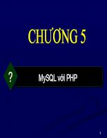 Bài giảng PHP và SQL