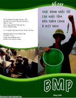 Tài liệu Sổ tay nuôi tôm sú bán thâm canh.pdf